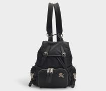 Kleiner Rucksack The Rucksack aus schwarzem Nylon