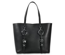 Ace Tote Bag aus schwarzem Rindsleder