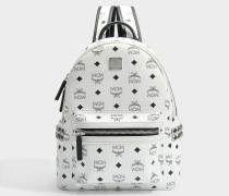Small Stark Backpack in weiß sandfarben