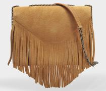 Lucky Tasche aus braunem Leder