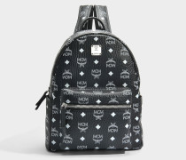 Stark Small Backpack mit schwarzem Logo sandfarben
