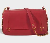 Bobi Tasche aus Burgundy Kalbsleder