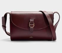 Tasche Alicia aus Bordeauxrotem Kalbsleder