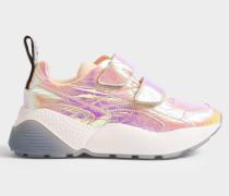 Strap Sneakers Metallic