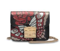 ropolis Mini Crossbody Tasche aus Toni Onyx Saffiano Leder