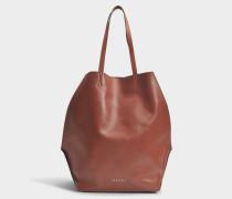 Tangram Tasche aus Rock Kalbsleder