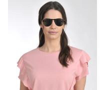 649 Series Sonnenbrille aus schwarzem Acetat