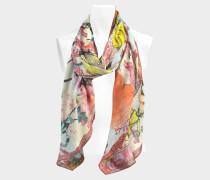 Stola Les Filles en Fleur 70x180 aus rosa Wolle