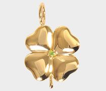 Fine Jewellery Halskette - 18K Gold Clover mit Tasvorit
