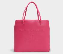 EW Logo Shopper Tasche aus Hydrangea Split Kuhleder