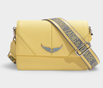 Tasche Lolita aus gelbem Kalbsleder