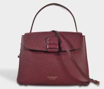 Camberly Medium Tasche aus Mahogany rotem Kalbsleder