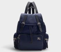 Rucksack The Rucksack Medium aus nachtblauem Nylon