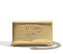 Elettra Small Bag aus goldfarbenem Elettra Leder