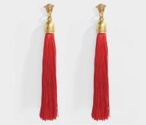 Ohrringe lo und Nappine Tessuto aus rotem Metall