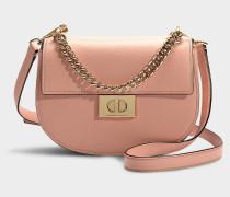 Handtasche Rita Greenwood Place aus rosa Kalbsleder