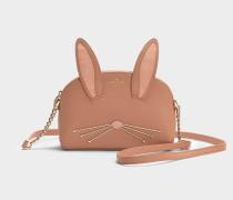 Handtasche Rabbit Hilli Cameron Street aus buntem Kalbsleder