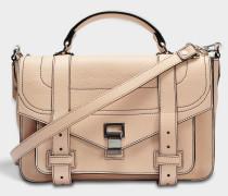 Ps1+ Medium Tasche aus sandfarbenem Soft Kalbsleder