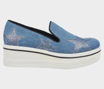 Binx Stars Denim Metallic Sneakers