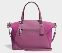 Prairie Satchel Tasche aus rosanem Kalbsleder