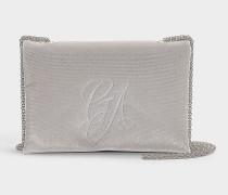 Handtasche Sling aus grauer Baumwolle