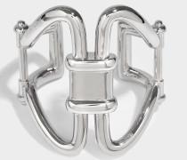 Rasna Bracelet aus silbernem Metall