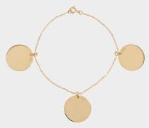 Armband Trois Médailles aus Gold 18 Karat