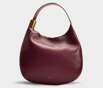 Handtasche Stevie aus Bordeauxrotem Kalbsleder