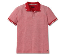 Poloshirt Bird-Eye Piquee chilli rot - selected! premium