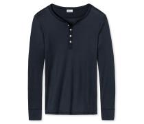Shirt langarm dunkelblau - Revival Heinrich