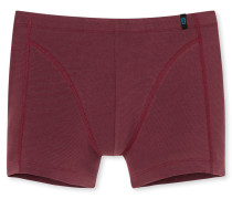 Shorts dunkelrot geringelt - 95/5