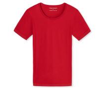 Shirt kurzarm rot - Seamless Active