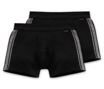 Shorts 2er-Pack schwarz - Cotton Essentials