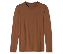 Shirt langarm rost - Revival Johann