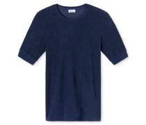 Shirt kurzarm blau - Revival Hartmut