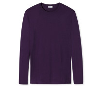 Shirt langarm lila - Revival Johann