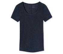 Shirt kurzarm nachtblau - Personal Fit