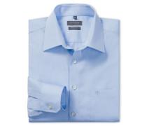 hellblaues Oberhemd in Regular-Fit-Schnittform
