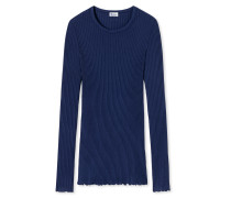 Shirt langarm indigo- Revival Helena