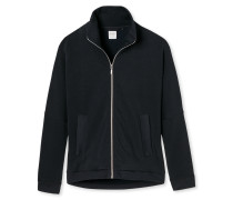 Jacke Sweatware oversized kohle - Mix & Relax Lounge