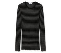 Shirt langarm schwarz-anthrazit - Revival Helena