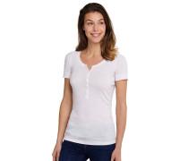 Shirt kurzarm mit Knopfleiste rosé - Selected! Premium