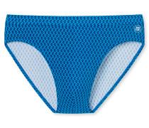 Bade-Rio Wirkware türkis-blau gemustert - Aqua Nautical