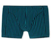 Shorts Streifen türkis/ dunkelblau - 95/5