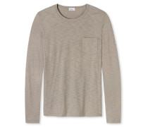 Shirt langarm beige - Revival Hanno