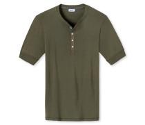 Shirt kurzarm oliv - Revival Karl-Heinz