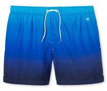 Swimshorts Webware blau mit Farbverlauf - Aqua Miami