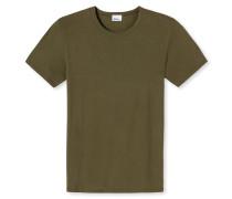Shirt kurzarm oliv - Revival Johann