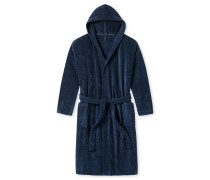 Bademantel Frottee navyblau - Essentials