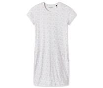 Sleepshirt kurzarm Asia-Print creme - Asian Exotic